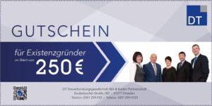 Gutschein Existenzgründer